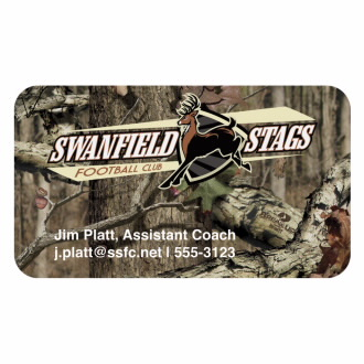 BIC Mossy Oak Bic 20mil 4-Color Business Card Magnet MGBCMO20