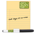 BIC 20 Mil Dry Erase Magnet With Marker And Clip (4w X 5 1/4h) MGDEM1