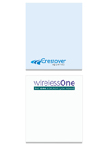 BIC 2 1/2x3 Adhesive Notepads 25 Sheets P2I3A25
