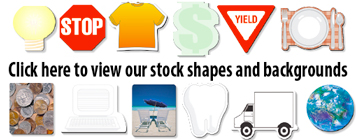 BIC stock shapes and backgrounds